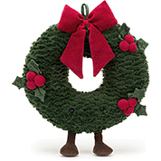 Jellycat Amuseables Christmas Wreath